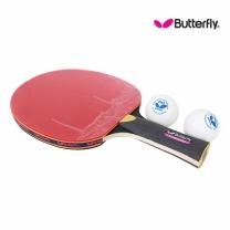 Butterfly 버터플라이 쉐이크(양면)형 탁구라켓 ADDOY S10+탁구공추가증정