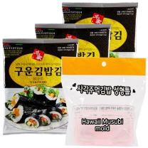 명가구운김밥김 10매*3 + Hawaii Musubi mold