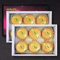 [정드림] 과일 선물세트 배 3kg (6과내외)/총2박스