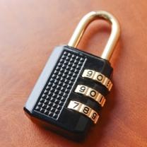 여행용 번호 자물쇠(33mm)