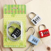 60cm 와이어 번호 자물쇠/철물점판매용 대학행사