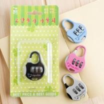 팬시 동그리 번호 자물쇠