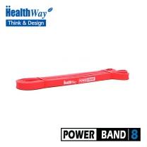 [헬스웨이] 풀업밴드(운동밴드) 2단계-빨간색