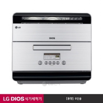 LG 디오스 6인용 컴팩트 식기세척기 D0633WFK