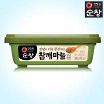 [1+1]청정원 순창 참깨마늘양념쌈장 200g+200g(사각)