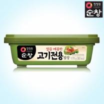 [1+1]청정원 순창 고기전용쌈장 170g+170g(사각)