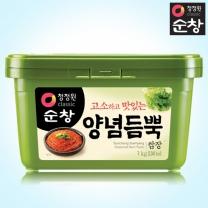 [1+1]청정원 순창 양념듬뿍쌈장 1kg+1kg(사각)
