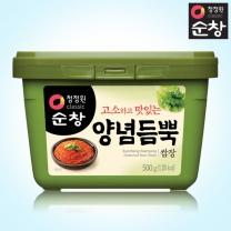 [1+1]청정원 순창 양념듬뿍쌈장 500g+500g(사각)