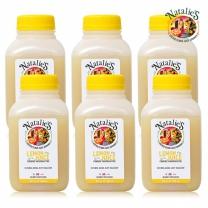 나탈리스 착즙 퓨어 레몬 주스 250ml*6병  (레몬원액)