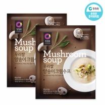 청정원 우리쌀양송이크림수프 60g×10개