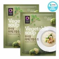 청정원 우리쌀야채크림수프 60g×10개