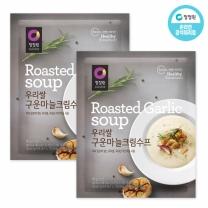 청정원 우리쌀구운마늘크림수프 60g×10개