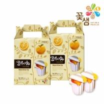 꽃샘식품 꿀유자차포션 15T