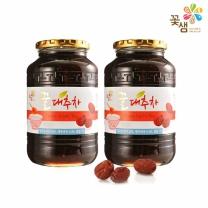꽃샘식품 꿀대추차 1kg