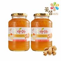 꽃샘식품 꿀생강차 1kg