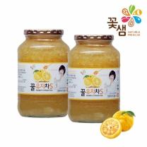 꽃샘식품 꿀유자차 1kg