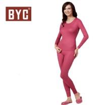 [BYC]여성 내복 동의발열상하(체리-4849)