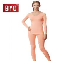 [BYC]여성내복 동의발열스판 상하(스킨베이지-T8020)