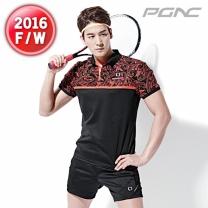 [ST-1466+MP5-177]패기앤코/테니스/배드민턴/탁구복/스포츠의류/티셔츠+반바지세트