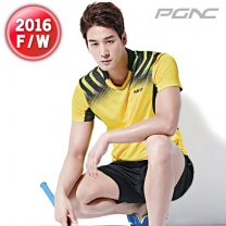 [RT-183+MP6-195]패기앤코/테니스/배드민턴/탁구복/스포츠의류/티셔츠+반바지세트