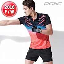 [ST-1456+FTP-115]패기앤코/테니스/배드민턴/탁구복/스포츠의류/티셔츠+반바지세트