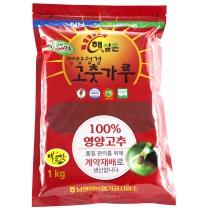 [남영양농협/산지직송] 2018년 햇살촌 영양청결고춧가루 일반 1kg (매운맛)