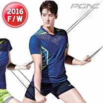 [FST-522+FTP-111]패기앤코/테니스/배드민턴/탁구복/스포츠의류/티셔츠+반바지세트