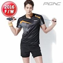 [RT-185+FTP-112]패기앤코/테니스/배드민턴/탁구복/스포츠의류/티셔츠+반바지세트