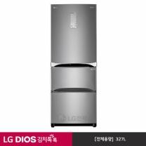 LG 디오스 327L 스탠드형 김치냉장고 K336SN15 (인터넷)