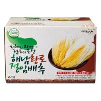 해남황토 절임배추(20kg/8-12포기)