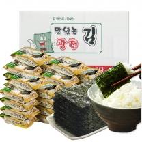 [맛있는 광천김] 광천 도시락김 총 27봉 (4gx27봉)