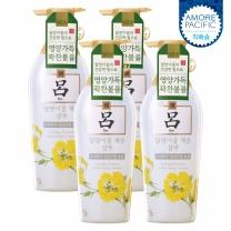 [아모레] 려 함초수 달맞이꽃채운 샴푸 500ML 4입