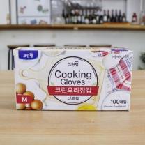[바보사랑]크린 요리(다용도)장갑 100매입(S,M,L)