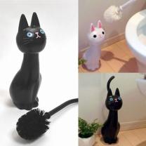 [바보사랑]고양이 변기 브러쉬(예쁜 변기솔-청소솔)