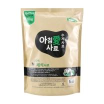 [아침애수제사료] 수제사료 고단백 채식 1.8kg