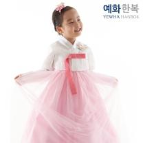 예화 여아용 아동한복_ 레이스 아이 1026
