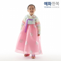 예화 여아용 아동한복_ 달가라 소라 1028