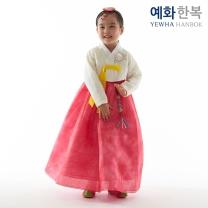 예화 여아용 아동한복_ 레이스 아이 1033