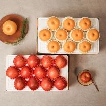나주배 5kg 9-10과+사과 3kg 10-12과 가정용/실속세트