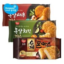 통살 새우 or 치킨까스 480g x2봉 + 수제돈까스 500g