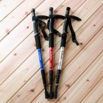 [바보사랑]실속형T자 손잡이 후레쉬1개 등산지팡이(6구) (98cm)