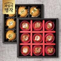 [9/10(월)부터 순차발송][과일의 명작] 행복 혼합과일 선물세트 (사과/배) 中 2박스선택