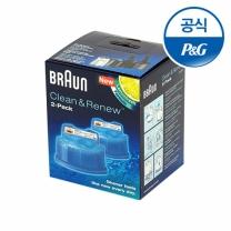 [브라운]브라운 면도기 세정액 CCR2(2입)/CCR4(4입)
