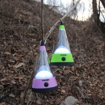[바보사랑]로맨틱 꼬깔 캠핑등 스탠드조명(LED)