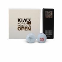 [바보사랑]기아 한국여자오픈 골프공과 볼마커 세트