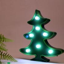 [바보사랑]크리스마스트리 조명 램프 마퀴라이트조명
