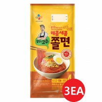 [CJ직배송] 밀당의고수 쫄면 4인X3개(총12인분)