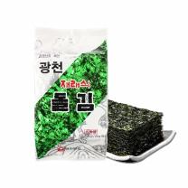 광천원김 재래식돌김 식탁용 (20gx4개)