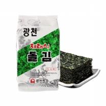 광천원김 재래식돌김 도시락 (5gx12개)