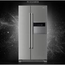 [하이마트] 양문형 냉장고 FR-S552QRESB [550ℓ / 유러피안 스타일 핸들 채용]